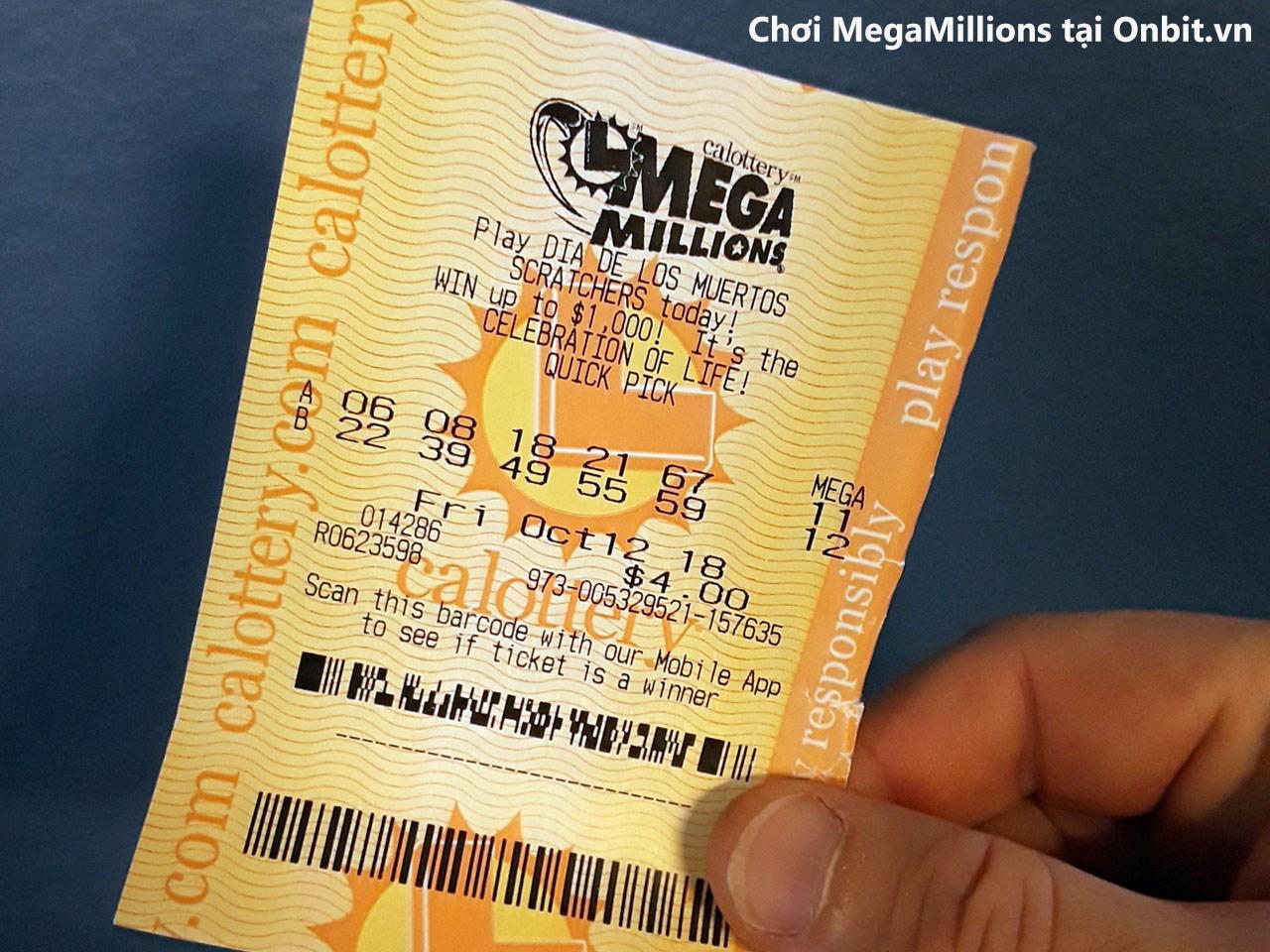 Phát lộc đầu năm mới, một người Mỹ trúng 425 triệu đô (khoảng 9 nghìn 775 tỷ đồng) với xổ số MegaMillions