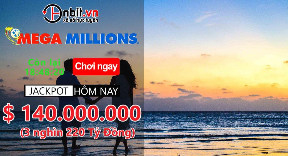 Đừng bỏ lỡ SIÊU JACKPOT hôm nay MegaMillions - 3 nghìn 220 tỷ đồng