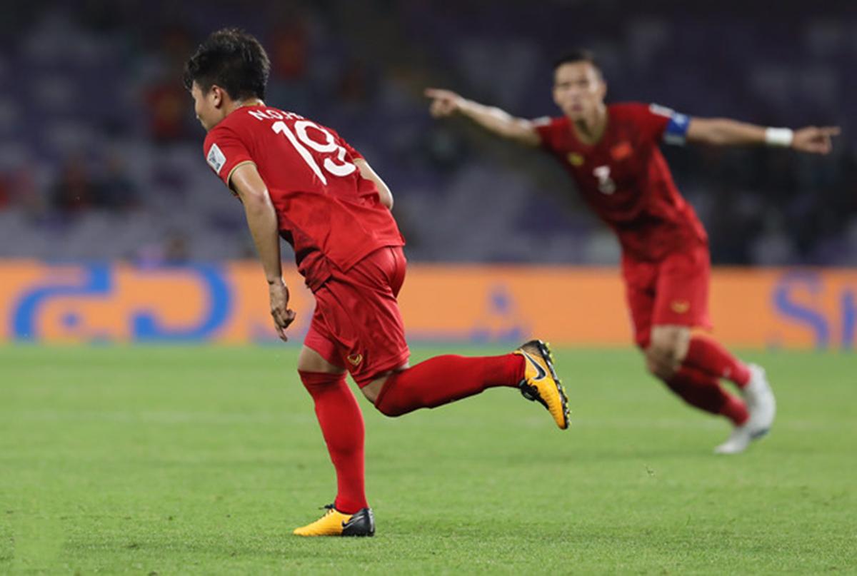 Chiến thắng Yemen với tỷ số 2-0 Việt Nam rộng đường vào vòng tiếp theo Asian Cup