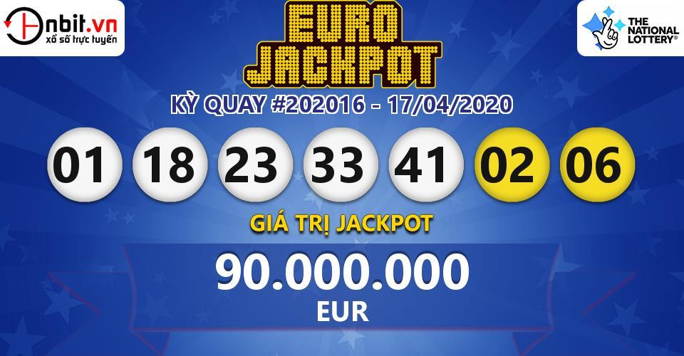 Eurojackpot 17.04 20